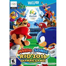 nintendo mario u0026 sonic rio 2016 olympic games walmart com