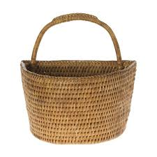 world menagerie blanchard handwoven rattan wall basket reviews