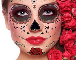 sugar skull temporary skull day of the