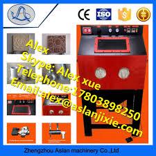 list manufacturers of manual glass sandblasting machine buy