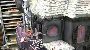 Halloween Cake Walk by Halloween Haunted House Cake Youtube