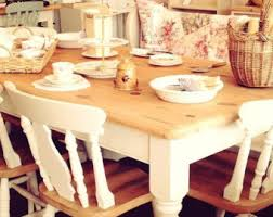 Pine Kitchen Tables And Chairs by Painted Chairs Mismatched Shabby Chic Chairs Set Of Four