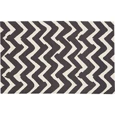 Black And White Zig Zag Rug High U0026 Low Zigzag Rug Home And Garden Stltoday Com