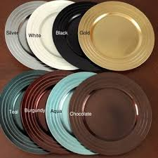 pleated design charger plates set of 4 free shipping on orders