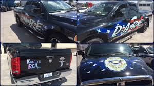 american flag truck dare truck receives a makeover wfpd now