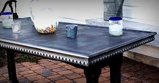 Zinc Table Top Zinc Tabletops Zinc Table Top 80 Zinc Table Top Light Patina Mock