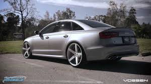 2008 audi a6 rims audi s6 on 22 vossen cv3 wheels by california wheels