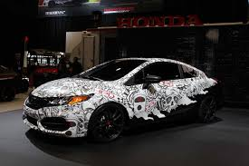 honda rolls out 2014 civic coupe adds more muscle to cr z hybrid