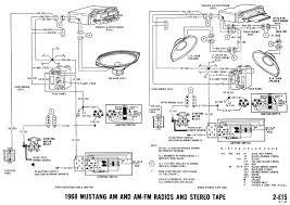 1968 mustang wiring diagrams and vacuum schematics u2013 average joe