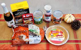 how to put together a thanksgiving meal box rockin