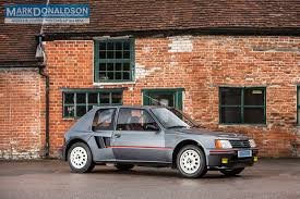 used peugeot suv for sale live your group b fantasies with this 1984 peugeot 205 t16