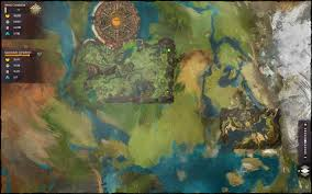 Gw2 World Map by Demongrub Pits Cave World Map Guild Wars 2 Life