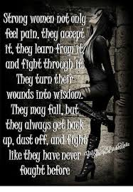 Strong Woman Meme - strong women dot only feel poin they 000ept it they learn fro and