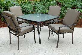 Patio Dining Set by Sc J 250 2nnset Irvington 5 Pc Patio Dining Set Sears Outlet