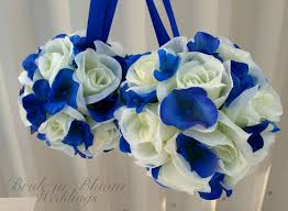silver and royal blue wedding runaway bridal planner royal blue wedding 18074