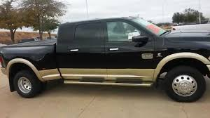 dodge ram mega cab dually for sale tdy sales 52 891 black 2012 ram 3500 laramie longhorn mega cab