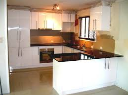 rectangle shape white kitchen bench island marble flooringwhite