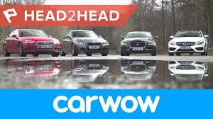 lexus xe cu audi a4 vs mercedes c class vs bmw 3 series vs jaguar xe saloons