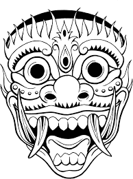 tribal mask flash photos pictures and sketches