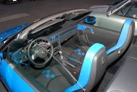 porsche graphite blue interior porsche 911 digitaldtour