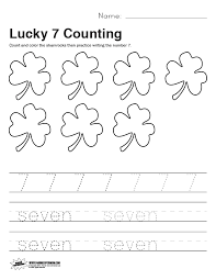 lucky 7 worksheet paging supermom