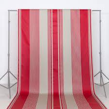 Tissu Pour Chilienne Tissu Au Mètre Grand Largeur Basque Txomin Rayure Rouge Coton Lin