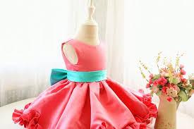 sleeveless flower dress baby dress toddler