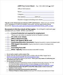 sample fax cover 8 documents in pdf