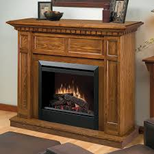 Electric Fireplace With Mantel Dimplex Caprice Electric Fireplace Mantel Package In Oak Dfp4743o