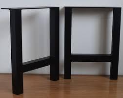 Sofa Table Desk by Metal Table Legs Etsy