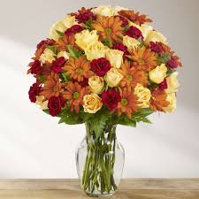 golden autumn flower bouquet kremp com