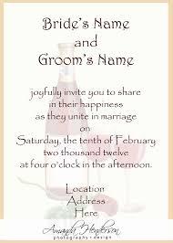 informal wedding invitation wording invitation wording for informal party luxury wedding invite