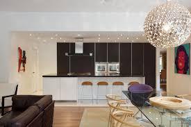 Galley Kitchen With Breakfast Bar Kitchen White Galley Kitchen With Black Appliances Fence