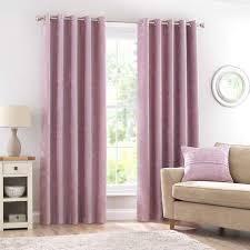Fuchsia Pink Curtains Eyelet Curtains Ready Made Eyelet Curtains Dunelm