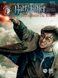 harry potter instrumental solos flute book u0026 cd