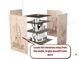 sketchup modeling from plans and elevations mastersketchup com