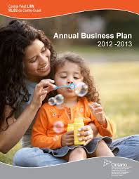 Annual Business Plan Central West Local Health Integration Network  LHIN