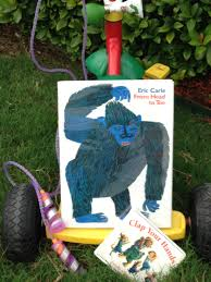 kid friendly book guide to from head to toe by eric carle and clap