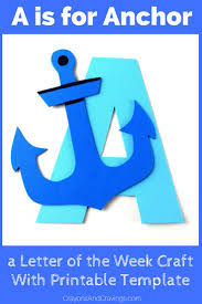 this letter a craft with printable template is part of our letter