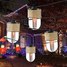 best christmas light solar outdoor lighting led string lights