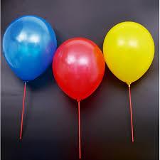 balloon sticks 50sets lot 32cm balloon stick white pvc rods for supplies