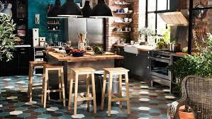 ilot cuisine pour manger tabouret de cuisine ilot central mobilier design décoration d