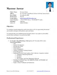 mba fresher resume for 25 excellent format finance pdf marketing