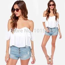 flowy blouses white top the shoulder sleeve shirt boho flowy blouse