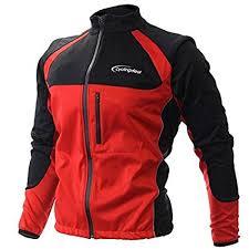 amazon com wolfbike cycling jacket jersey vest wind amazon com cycling bicycle jersey wind rain jacket vest red mens