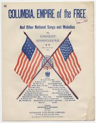 Flag Day Songs Notated Music Popular Songs Of The Day Library Of Congress