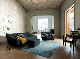 Old House With Designer Sofa And Armchairs Interpreted In Modern - Old house interior design