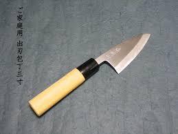 small kitchen knives hamono furuta rakuten global market small deba laquo knife