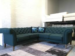 sofas chesterfield style ex display showroom oscar chesterfield style corner sofa wool