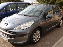 peugeot grey second hand peugeot 207 for sale san javier murcia costa blanca
